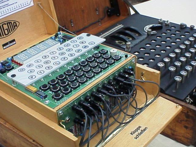Enigma E Wooden Box