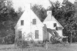 The former house of forester Neefs that was used as a radio post by OD region 16